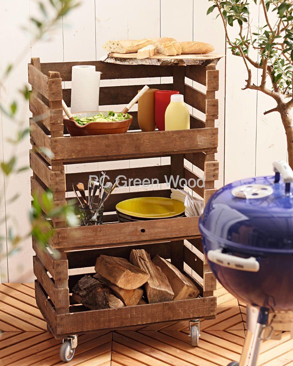 Поделки из деревянных ящиков фото